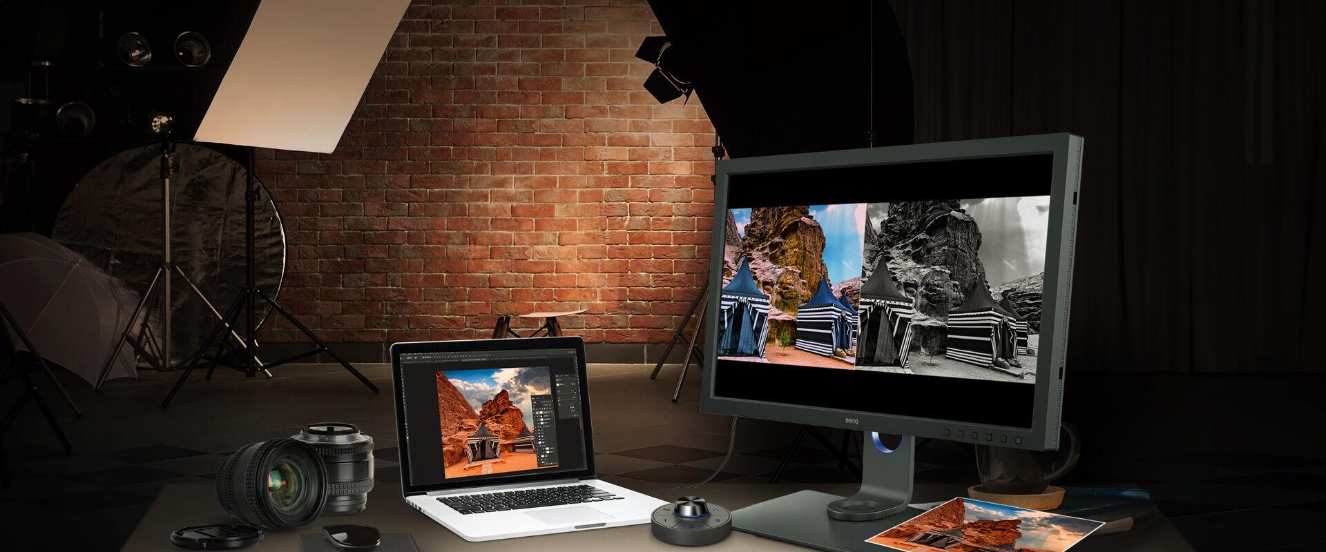 BenQ, fotoğrafçılara özel 27 inç 4K monitörünü duyurdu