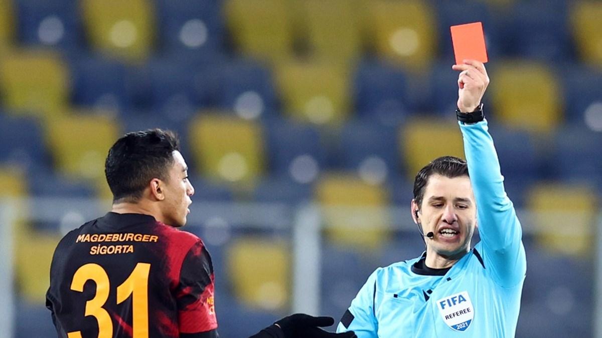 Galatasaray'ın kırmızı kart laneti!